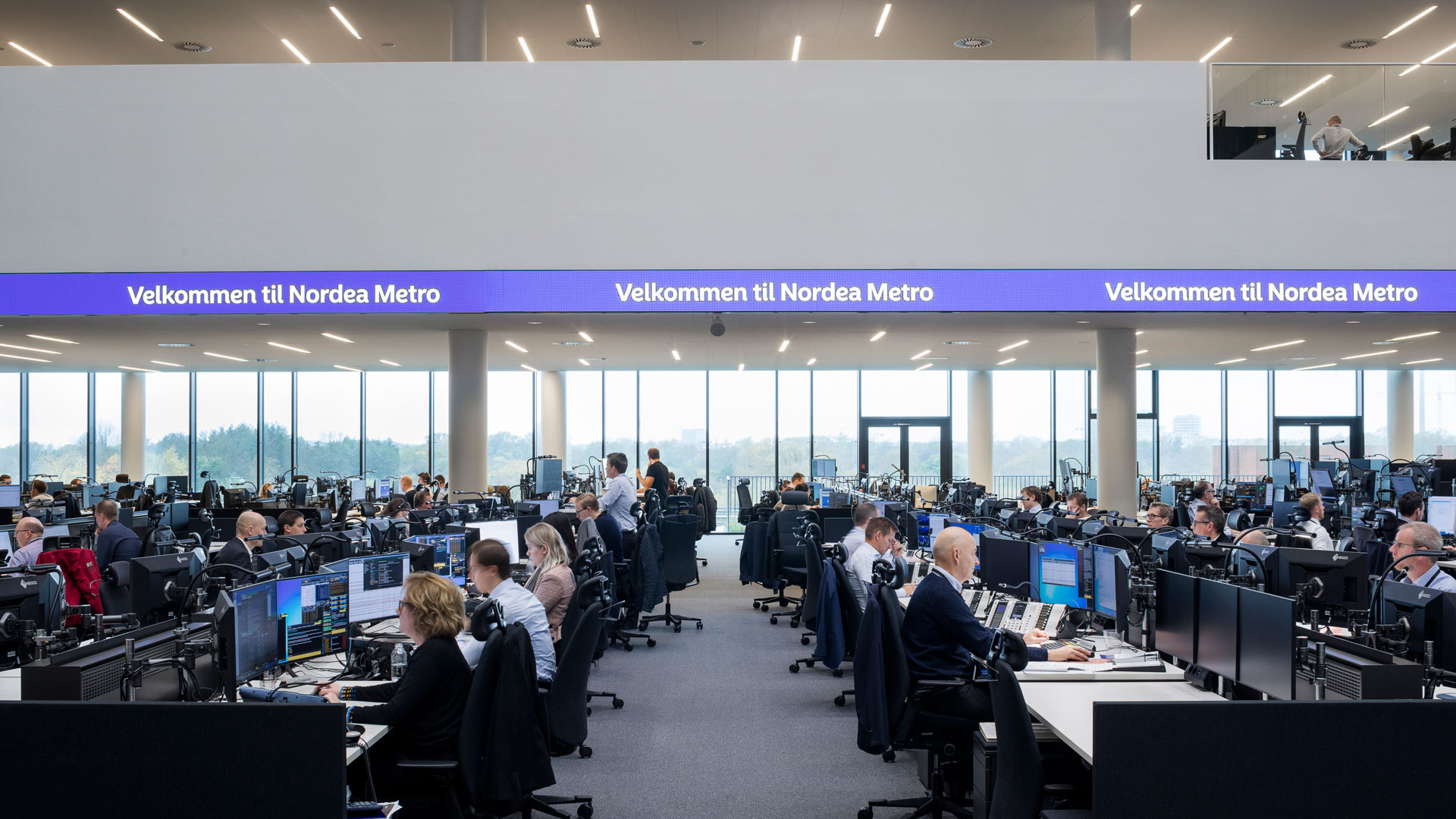 ... Floor With Scenic Views And Visibility From The Outside U2013 A Trading  Floor With A Healthy And Sustainable Work Environment Is Now Setting New  Standards ...